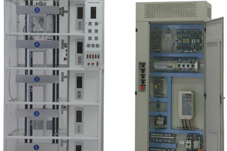 智能串行通讯控制透明教学电梯模型